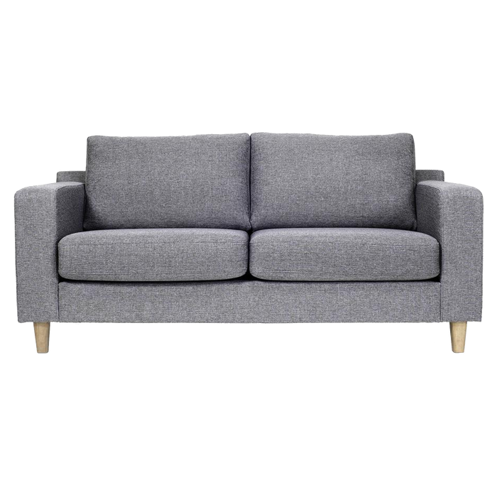 Tampa 2 Seater Sofa | Charcoal, Oak