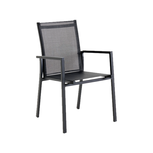 Arum Stacking Chair | Black