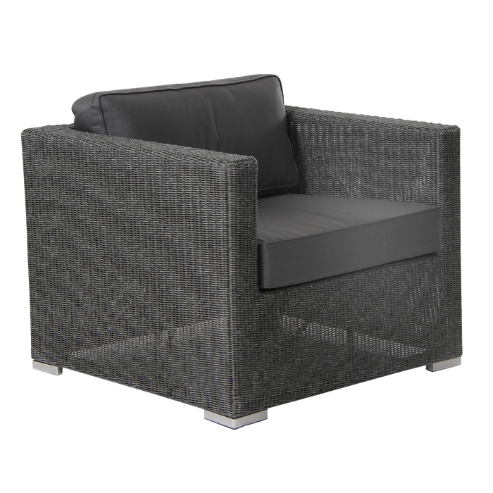 Brookline Outdoor Armchair | Grey