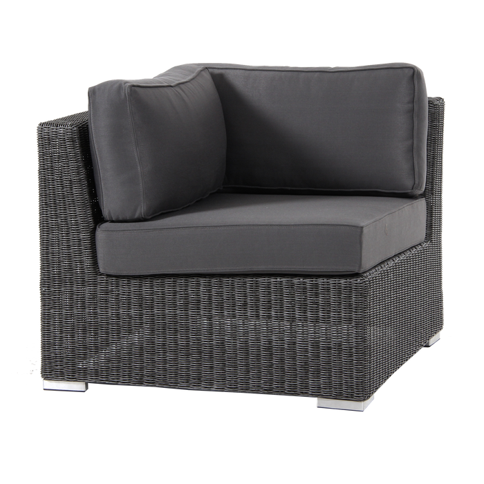 Brookline Corner Module Outdoor Sofa | Grey