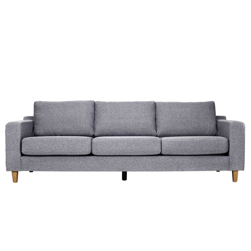 Tampa 3 Seater Sofa Troy | Antrazit, Oak