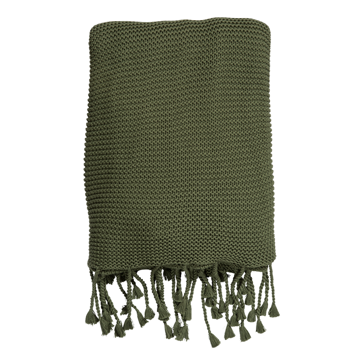 Annie Throw | Olive