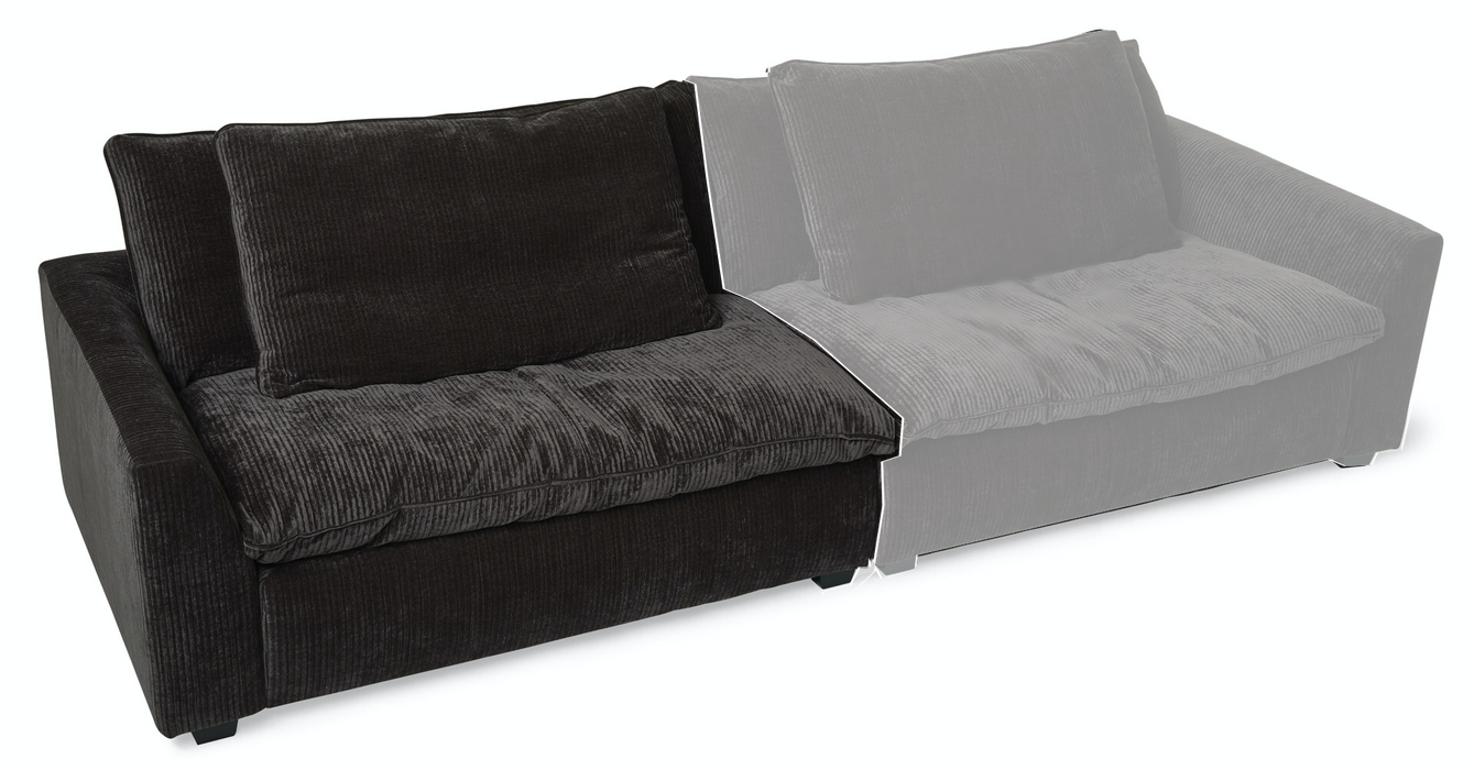 Ghorda Sofa Seat 1,5 Seaters Left | Diamond Antrazit