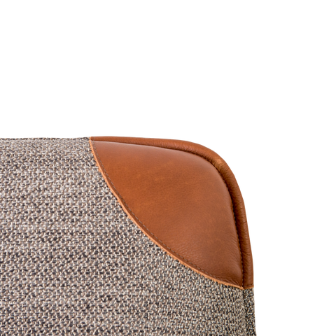 Danny Chair | Leather, Fabric