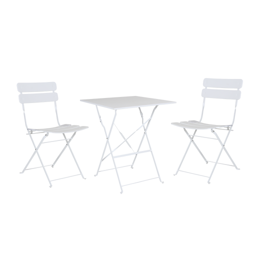 Esino Outdoor Foldable Furniture Set | White