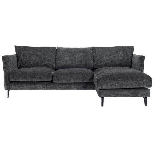 Weekend Corner Sofa Right | Black