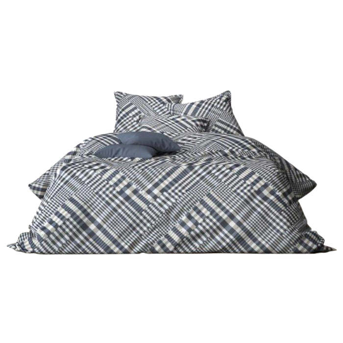 Mistral Home Duvet Cover and Pillowcase Set | Blue, Silver