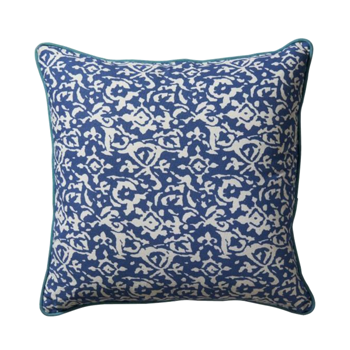 Pomax Cushion | Blue, White