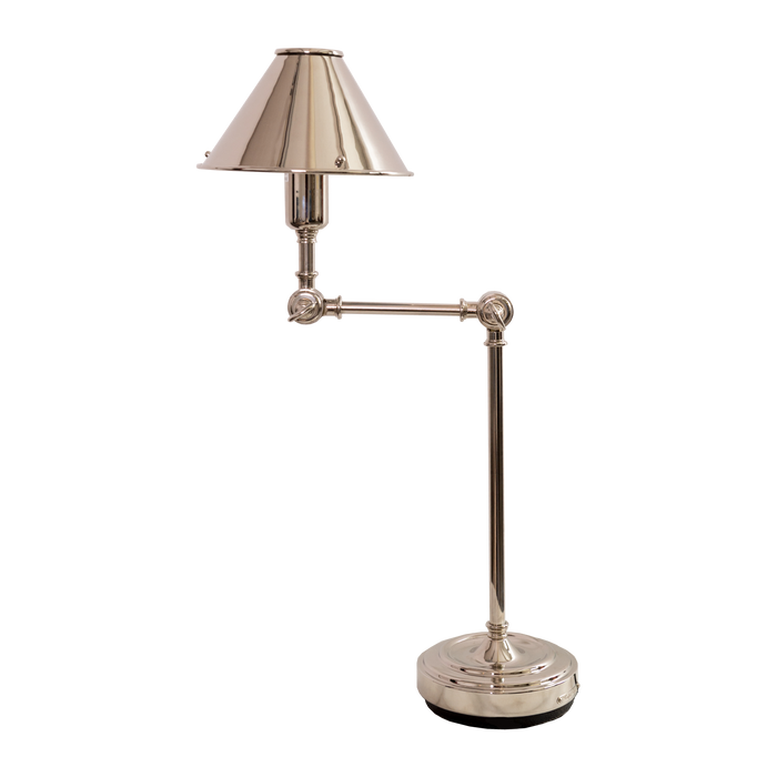 Annette Table Lamp | Polished Nickel