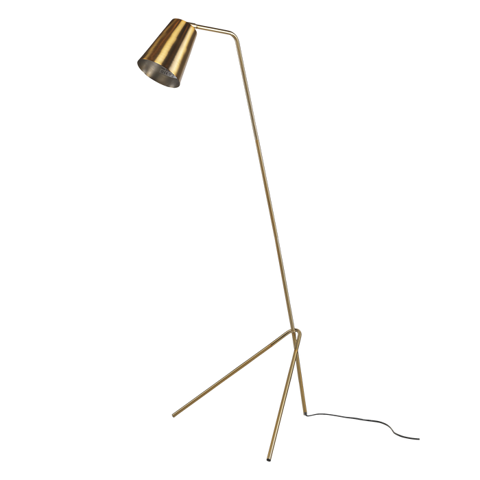 Joker Floor Lamp | Brass