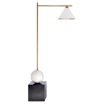 Cleo Bronze Floor Lamp