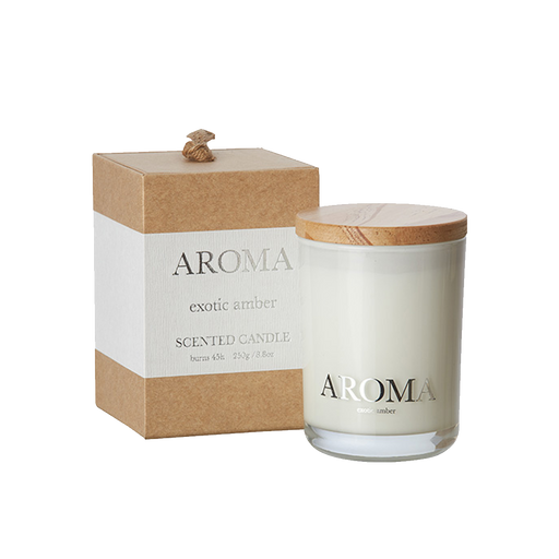 AROMA SCENT CANDLE | EXOTIC AMBER