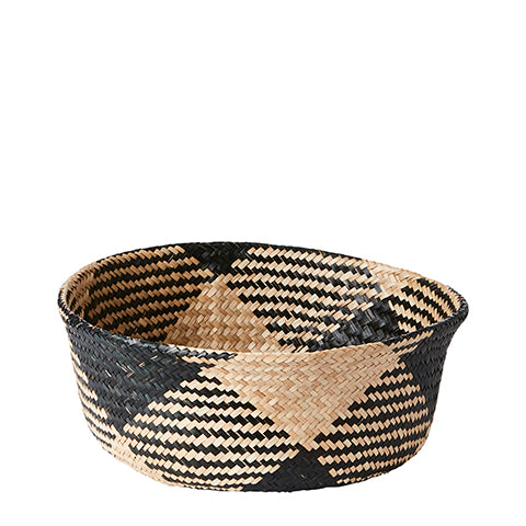 Collect Basket  | Black& Natural