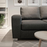 Bellatrix Left Hand Modular Sofa | Charcoal