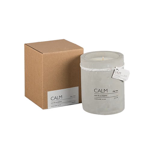 CALM SCENTED CANDLE | MINT & EUCALYPTUS