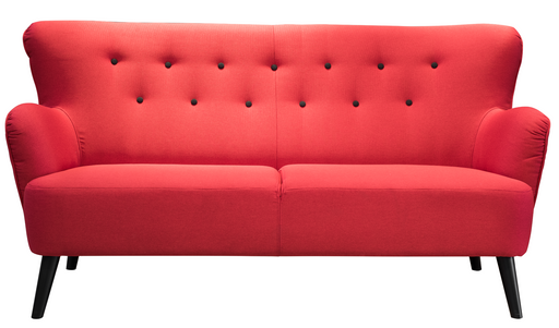 Tullo Sofa | Grey, Red, Tobacco