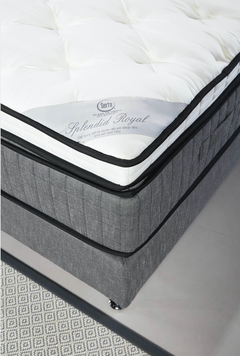 Classico adjustable Bed | Antrazit