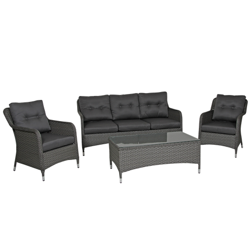 Colby Outdoor Furniture Set | Grey