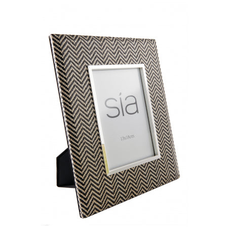 ETHICS PHOTO FRAME SÌA | Black & Natural
