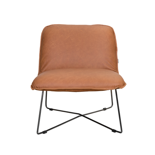 Danny Chair | Chestnut, Leather