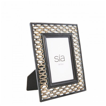 Genious Photo Frame SÌA | Metal & Black
