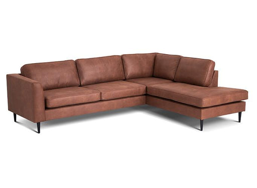 Houston Corner Sofa Right | Kentucky Cognac