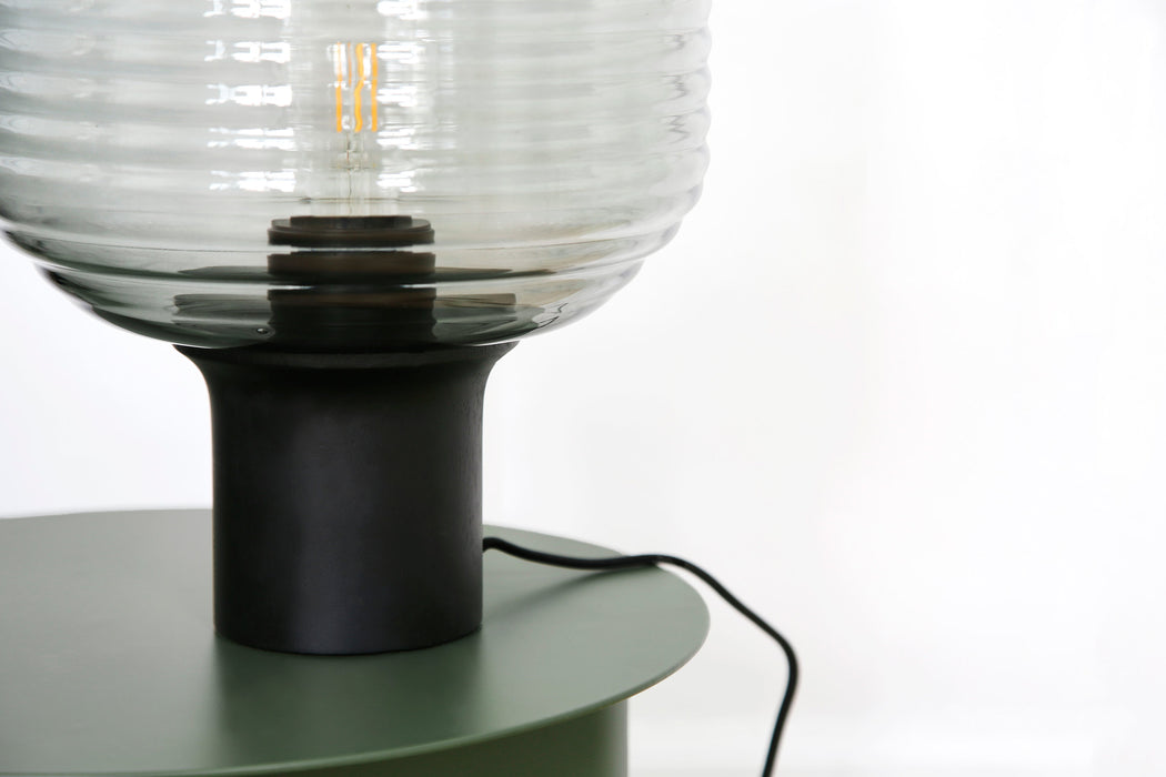 HONEY TABLE LAMP | SMOKE GLASS