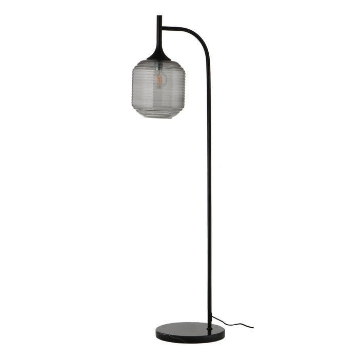 HONEY FLOOR LAMP | SMOKE GLASS