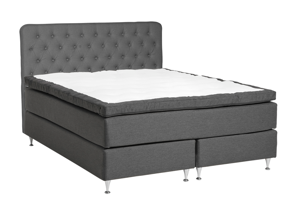Majezty Continental Bed | Charcoal