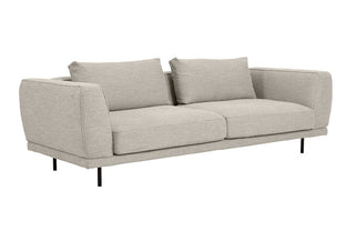 Amaya Sofa 3 Seater | Chanel Grey