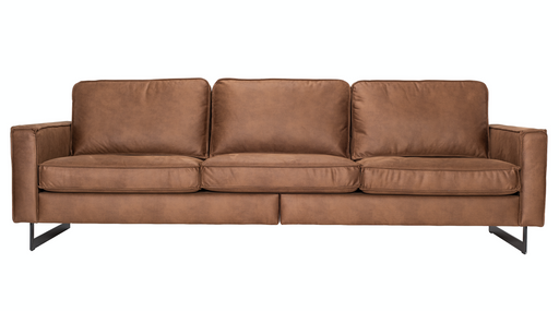 Pinto sofa 4 seaters | Kentucky cognac