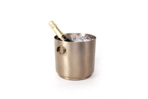 Rondo Wine Bucket (stainless steel) - Soft Copper