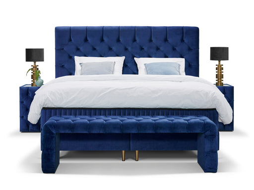 YORK Bed | Blue Dorma Home