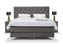 YORK Bed | Antrazit Dorma Home