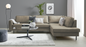 Scott L Sofa Right chaise longue | Kentucky Stone grey