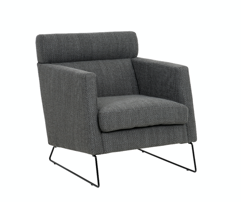 Roland Chair | Charcoal