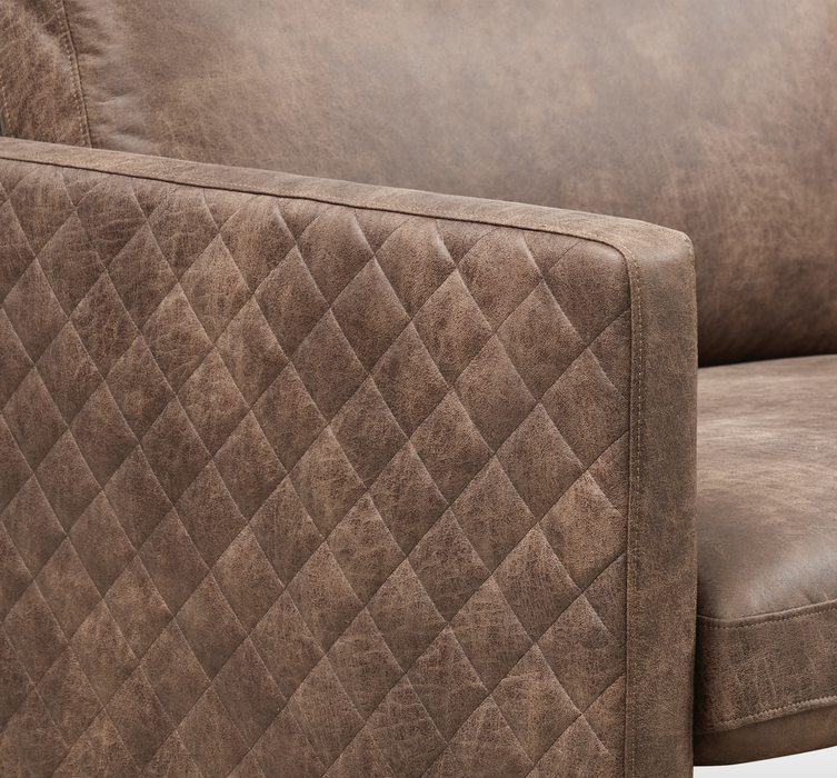 Sicilia Sofa 3 seaters | Colorado Brown
