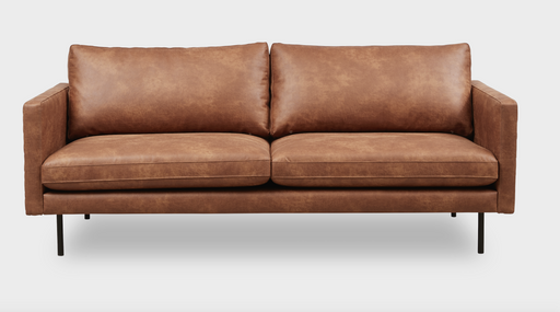 Sicilia Sofa 3 seaters | Colorado Brandy