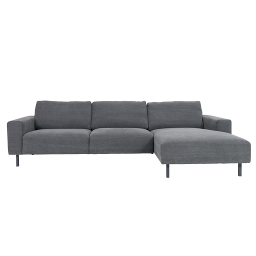 Angelina Sofa with Chaise | Blueberry