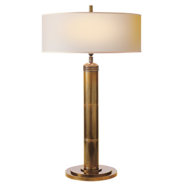 Longacre Brass Tall Table Lamp