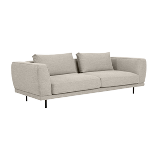 Amaya Sofa 2,5 Seater | Chanel Grey