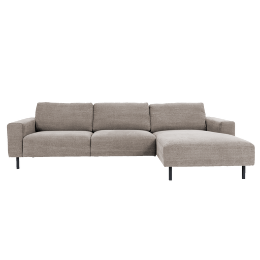 Angelina Sofa with Chaise | Taupe
