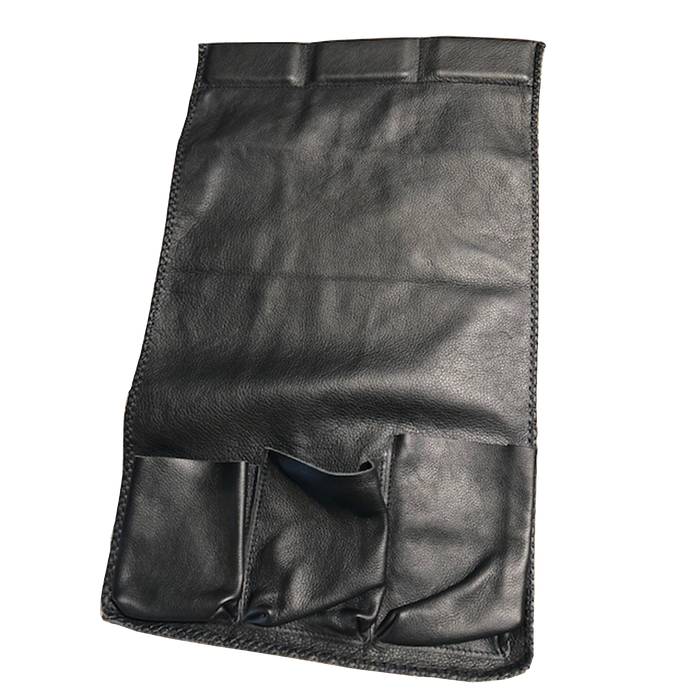 Armrest Bag | Black, Leather