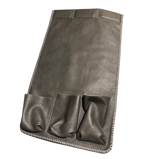 Armrest Bag | Grey, Leather