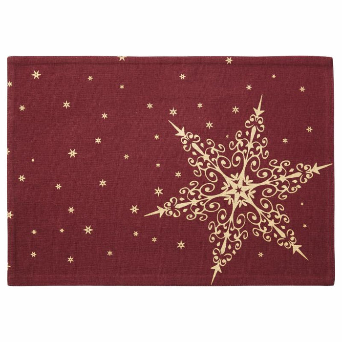 STARNIA PLACEMATE  | Red & Gold