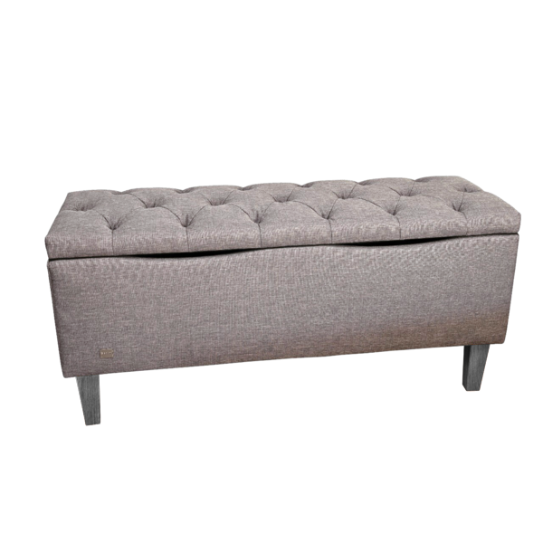 Regent Bed Box | Monza Light Grey