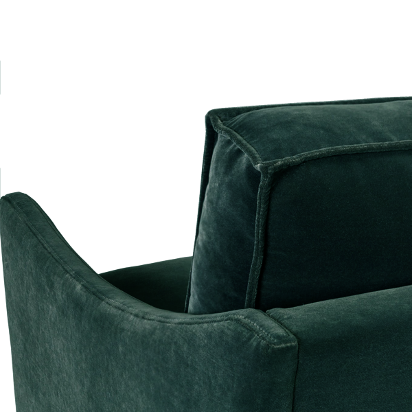 Capella 3 Seater Sofa | Emerald