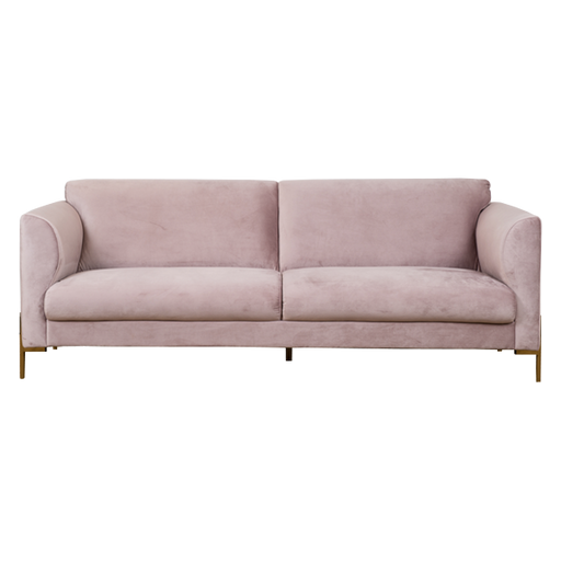 Conley Sofa 3 Seater | Dusty Rose
