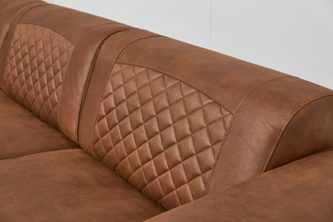 Avila Corner Sofa Right Angle | Kentucky Cognac