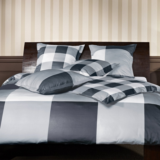 Mistral Home Duvet Cover & Pillowcase Set | Charcoal Pattern